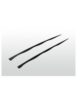 Stecchino in plastica 18 cm nero -