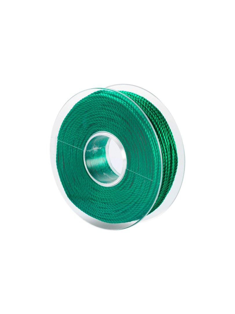 Acquista il prodotto Cordoncino in viscosa da 50 metri colore verde