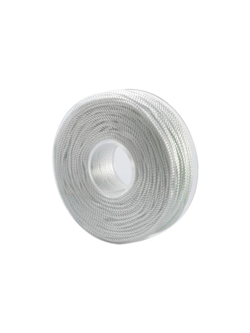 Acquista il prodotto Cordoncino in viscosa da 50 metri colore bianco