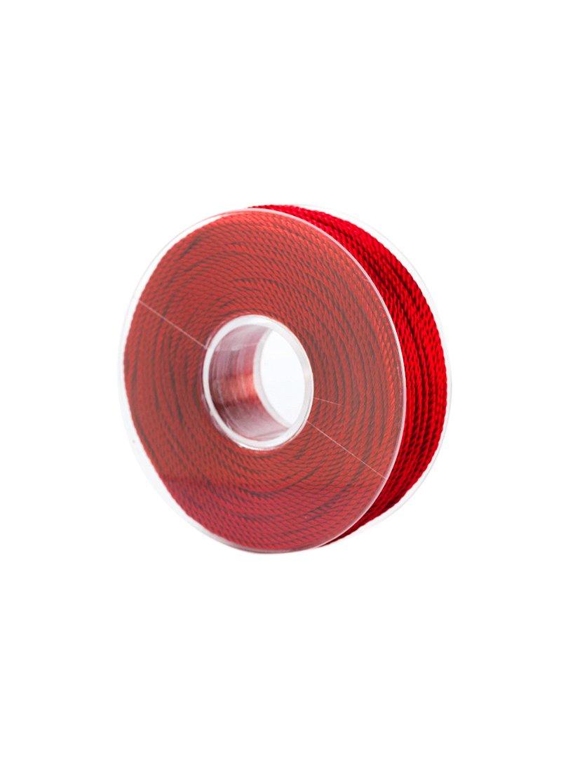 Acquista il prodotto Cordoncino in viscosa da 50 metri colore rosso