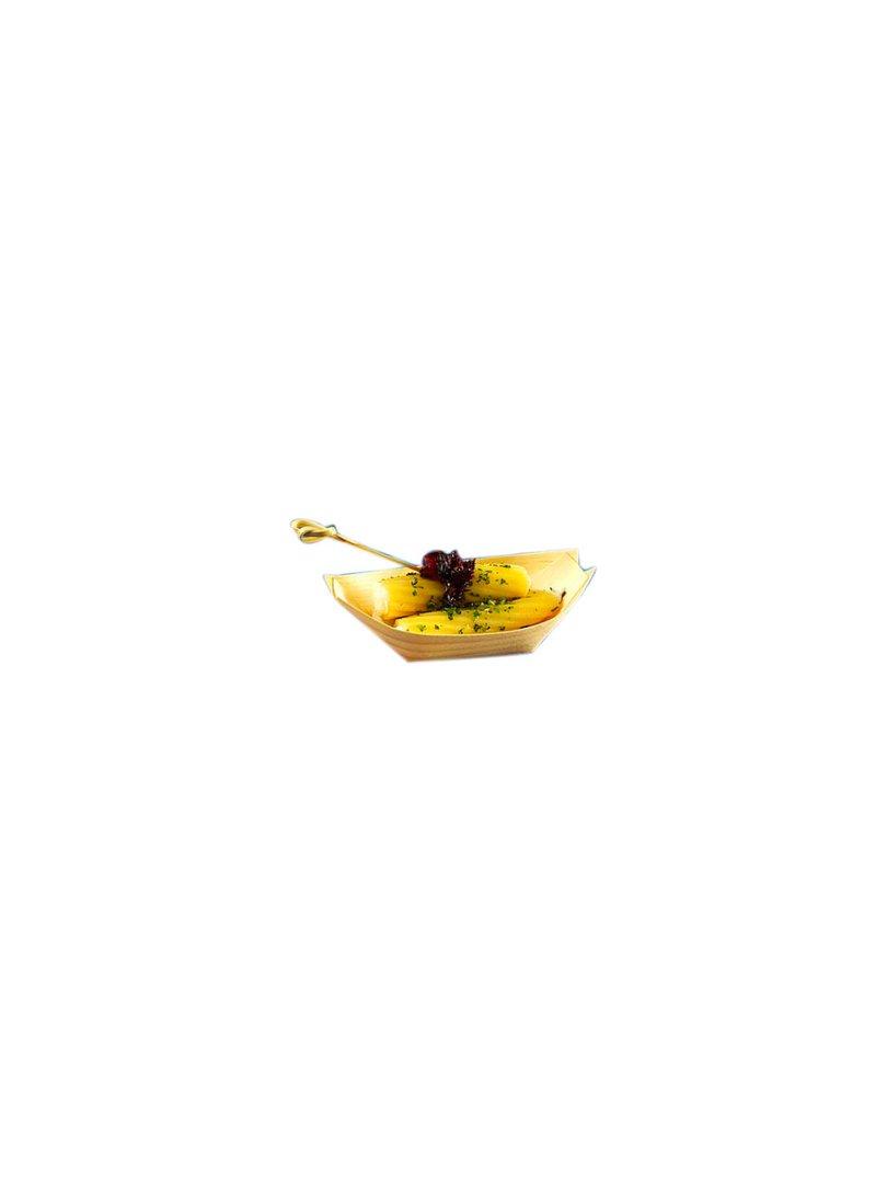 Acquista il prodotto Barchetta in balsa di legno 9 cm