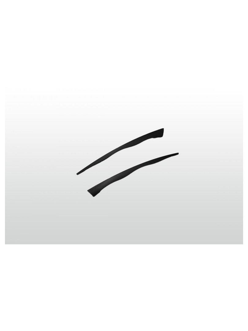 Acquista il prodotto Stecchino in plastica 9 cm nero